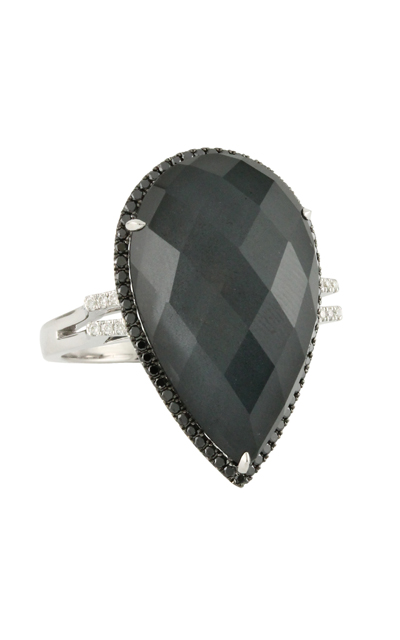 Doves Haute Hematite Ring R5697BHM product image