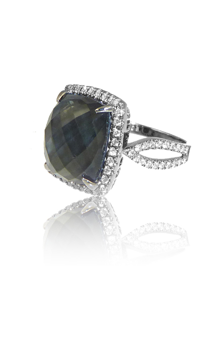 Doves Haute Hematite Ring R5666HM product image