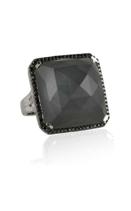 Doves Haute Hematite Ring R4650BHM product image