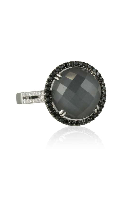 Doves Haute Hematite Ring R4524BHM product image