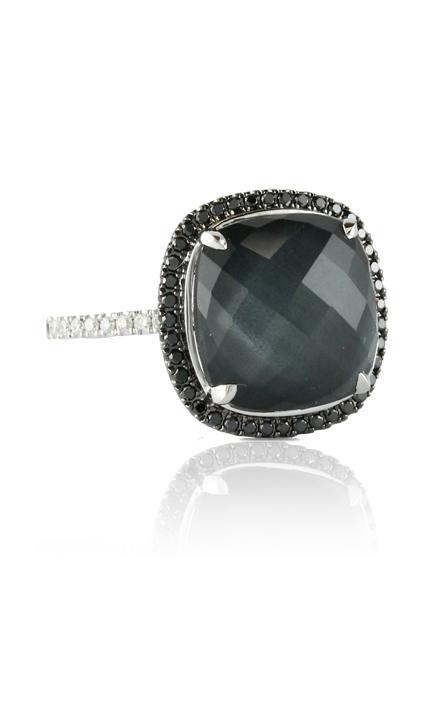 Doves Haute Hematite Ring R3399BHM product image
