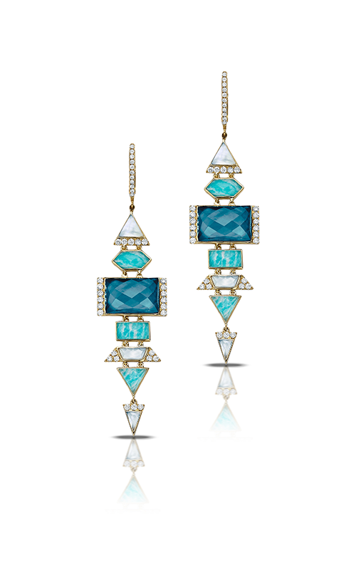Doves by Doron Paloma Amazon Breeze Earrings E8314AZLMP product image