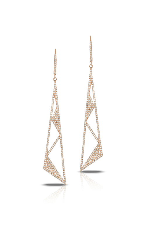 Doves by Doron Paloma Diamond Fashion Earrings E7237 product image
