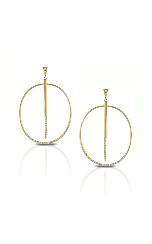 Doves by Doron Paloma Diamond Fashion Earrings E8137 product image