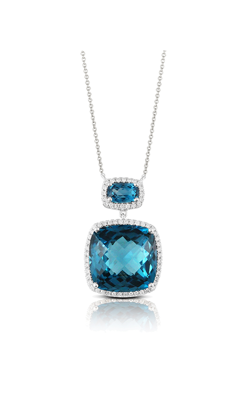 Doves by Doron Paloma London Blue Necklace N8608LBT product image
