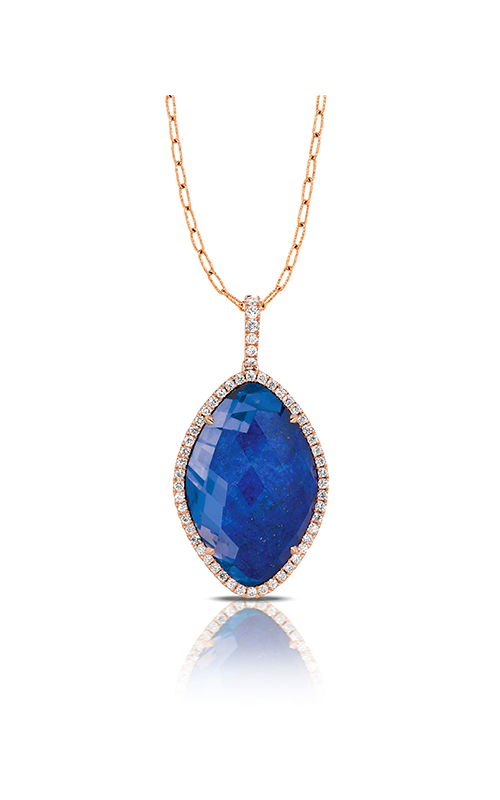 Doves by Doron Paloma Royal Lapis Necklace P5915LP product image
