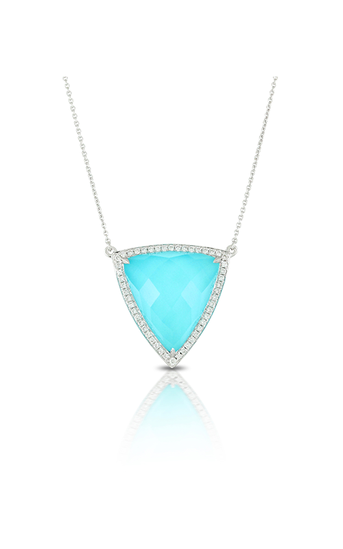Doves by Doron Paloma St. Barths Blue Necklace N7040TQ product image