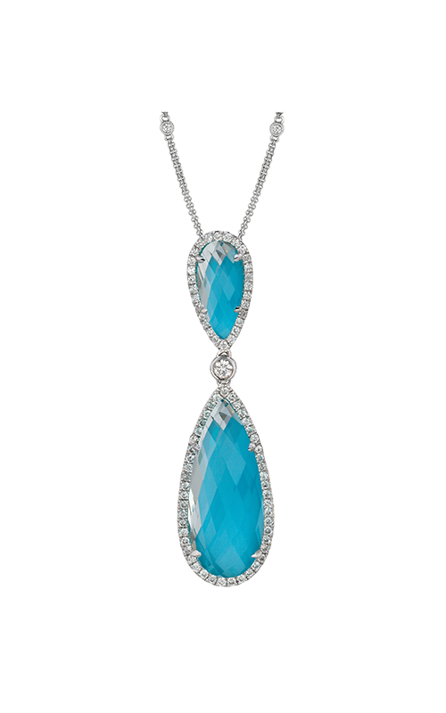 Doves by Doron Paloma St. Barths Blue Necklace P5735TQ product image