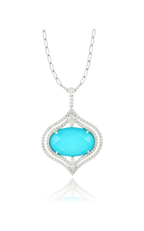 Doves by Doron Paloma St. Barths Blue Necklace P6301TQ product image