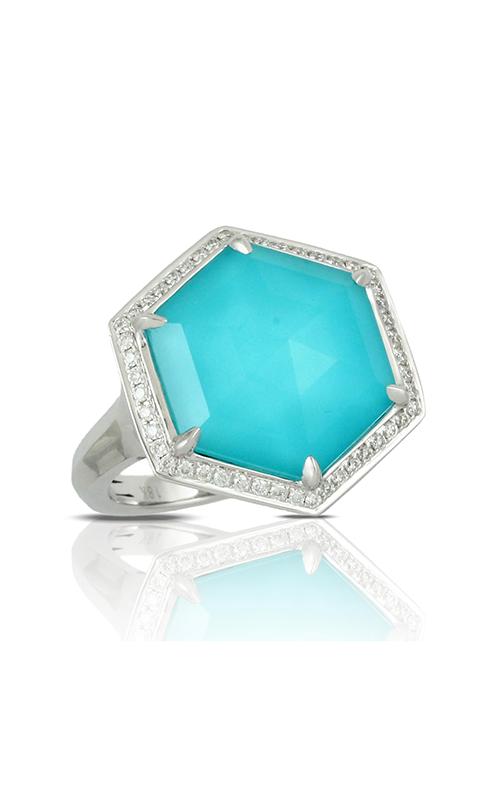 Doves by Doron Paloma St. Barths Blue Ring R7567TQ product image