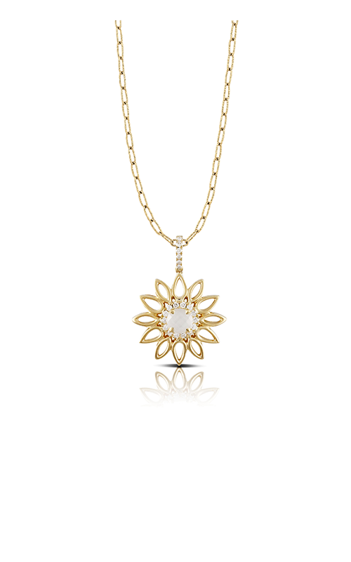 Doves by Doron Paloma White Orchid Necklace P4954WMP product image