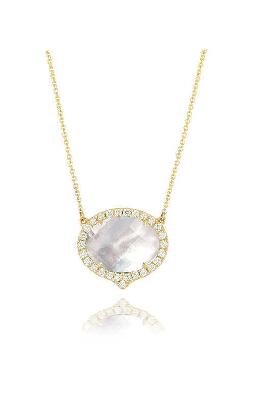 Doves by Doron Paloma White Orchid Necklace N6232WMP product image