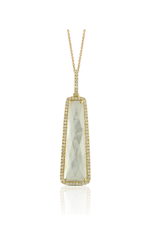 Doves by Doron Paloma White Orchid Necklace P5517WMP product image