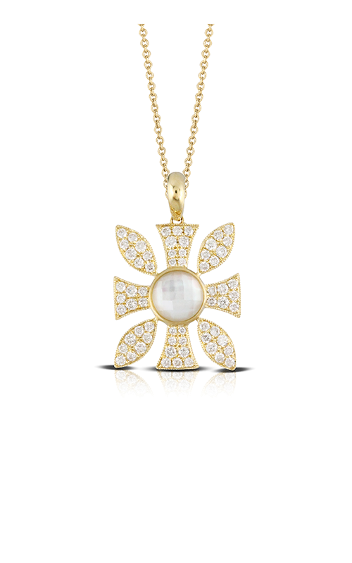 Doves by Doron Paloma White Orchid Necklace P8709WMP product image