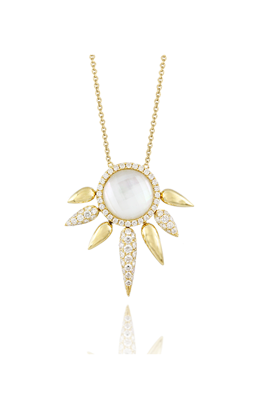 Doves by Doron Paloma White Orchid Necklace N8666WMP product image