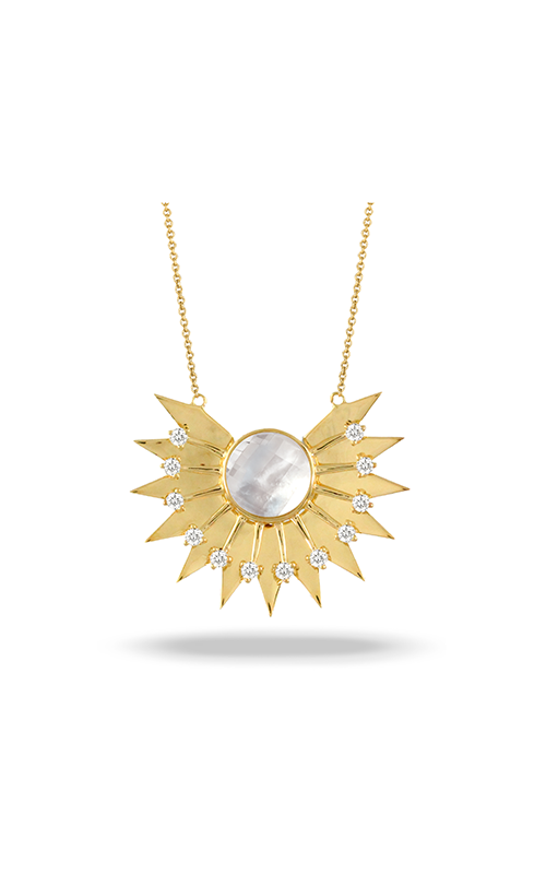 Doves by Doron Paloma White Orchid Necklace N9001WMP product image