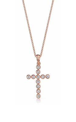 Elma Designs Religious Collection Necklace EDDP-166 RG product image