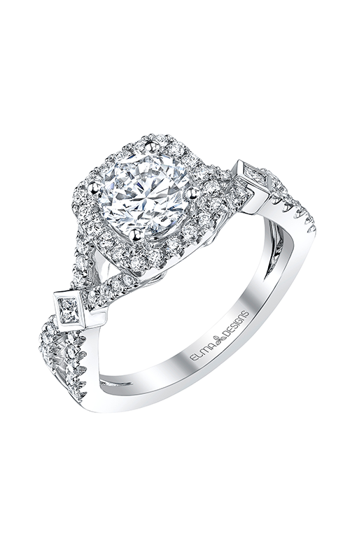Elma Designs Bridal Collection engagement ring EDDR-375 product image
