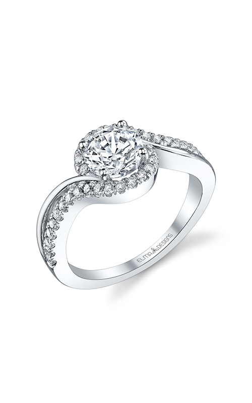 Elma Designs Bridal Collection engagement ring EDDR-295 product image