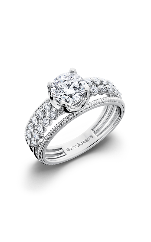 Elma Designs Bridal Collection engagement ring EDDR-481 product image