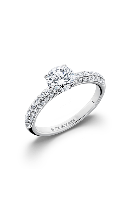 Elma Designs Bridal Collection engagement ring EDDR-645 product image