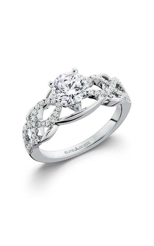 Elma Designs Bridal Collection engagement ring EDDR-610 product image