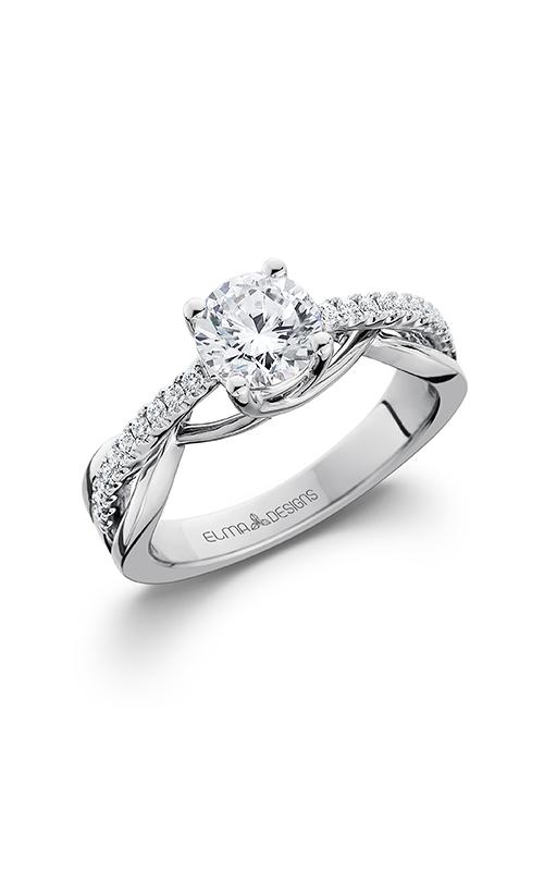 Elma Designs Bridal Collection engagement ring EDDR-611 product image