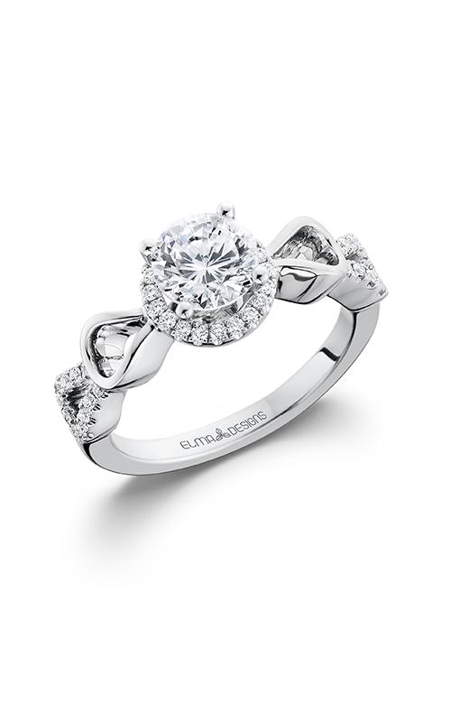 Elma Designs Bridal Collection engagement ring EDDR-615 product image