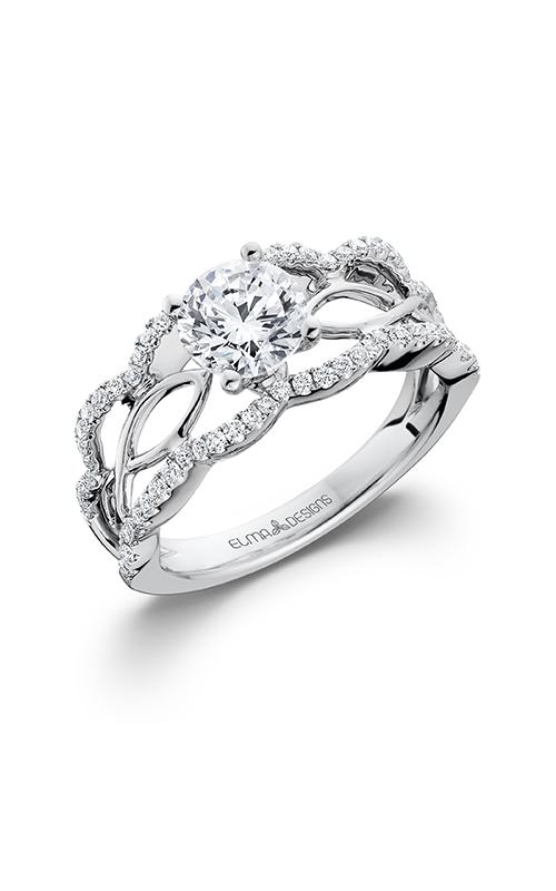 Elma Designs Bridal Collection engagement ring EDDR-640 product image