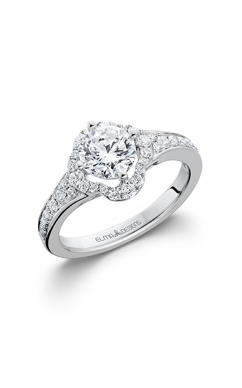 Elma Designs Bridal Collection engagement ring EDDR-647 product image