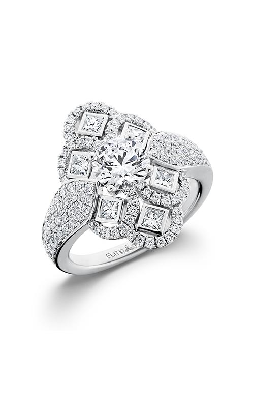 Elma Designs Bridal Collection engagement ring EDDR-671 product image