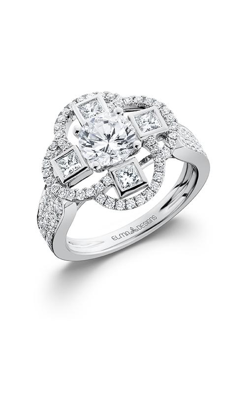 Elma Designs Bridal Collection engagement ring EDDR-674 product image