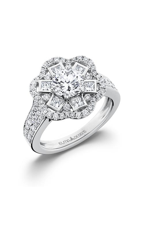 Elma Designs Bridal Collection engagement ring EDDR-676 product image