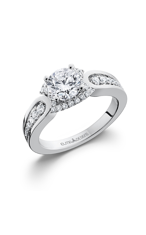 Elma Designs Bridal Collection engagement ring EDDR-680 product image