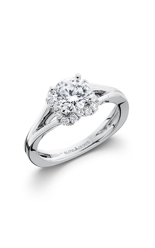 Elma Designs Bridal Collection engagement ring EDDR-684 product image