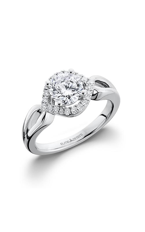 Elma Designs Bridal Collection engagement ring EDDR-686 product image