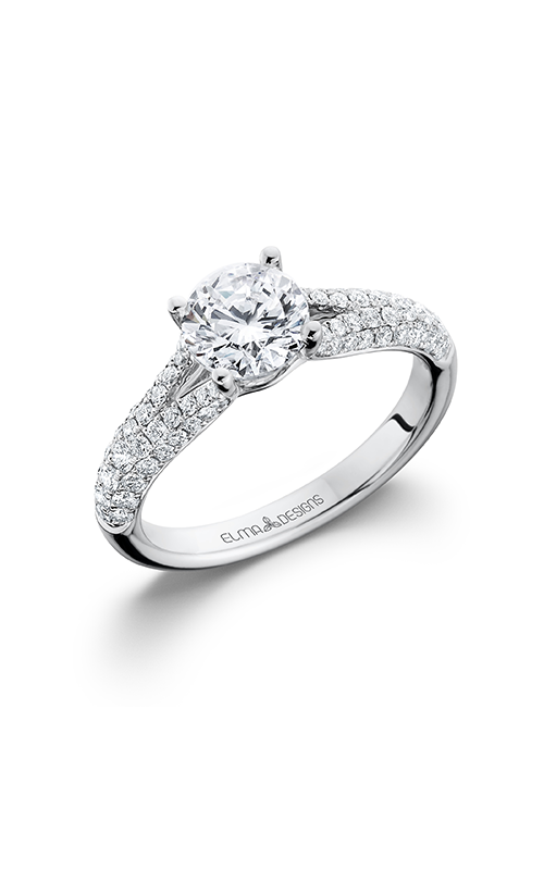 Elma Designs Bridal Collection engagement ring EDDR-700 product image