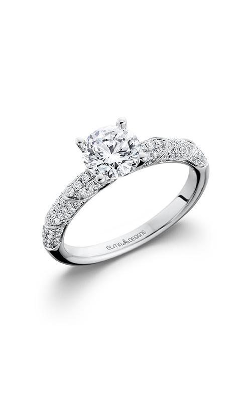 Elma Designs Bridal Collection engagement ring EDDR-702 product image