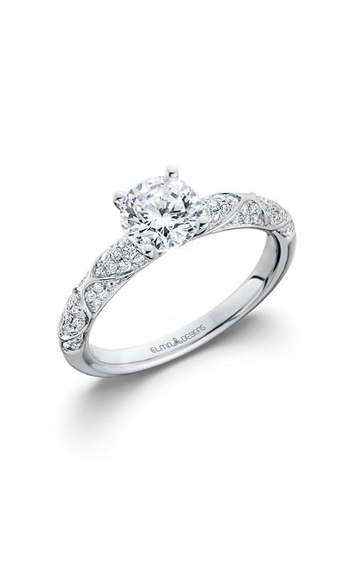 Elma Designs Bridal Collection engagement ring EDDR-704 product image