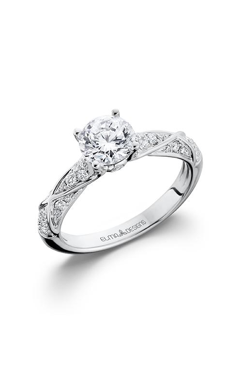 Elma Designs Bridal Collection engagement ring EDDR-705 product image