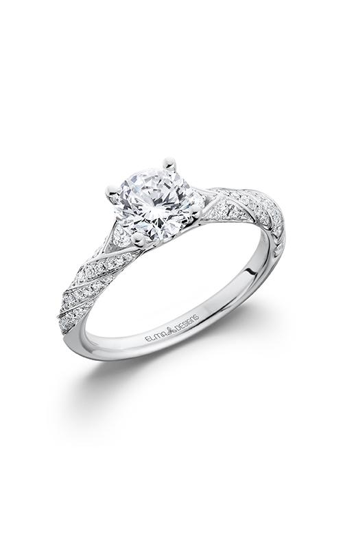 Elma Designs Bridal Collection engagement ring EDDR-706 product image