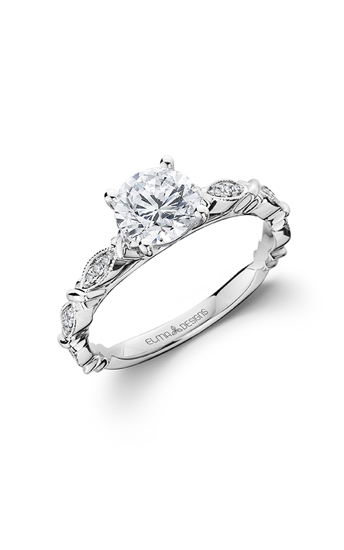 Elma Designs Bridal Collection engagement ring EDDR-707 product image