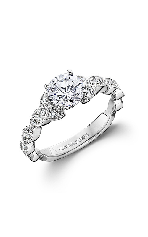 Elma Designs Bridal Collection engagement ring EDDR-708 product image