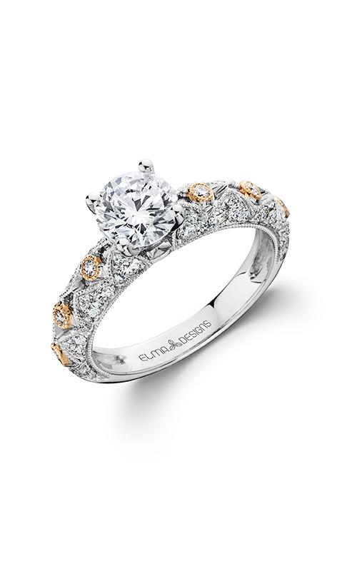 Elma Designs Bridal Collection engagement ring EDDR-711 product image