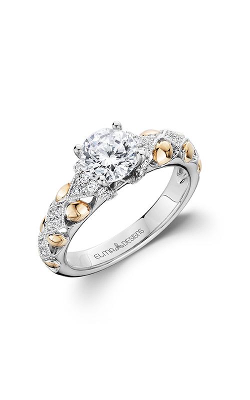 Elma Designs Bridal Collection engagement ring EDDR-713 product image