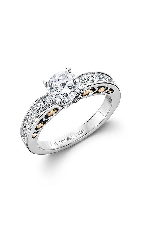 Elma Designs Bridal Collection engagement ring EDDR-716 product image