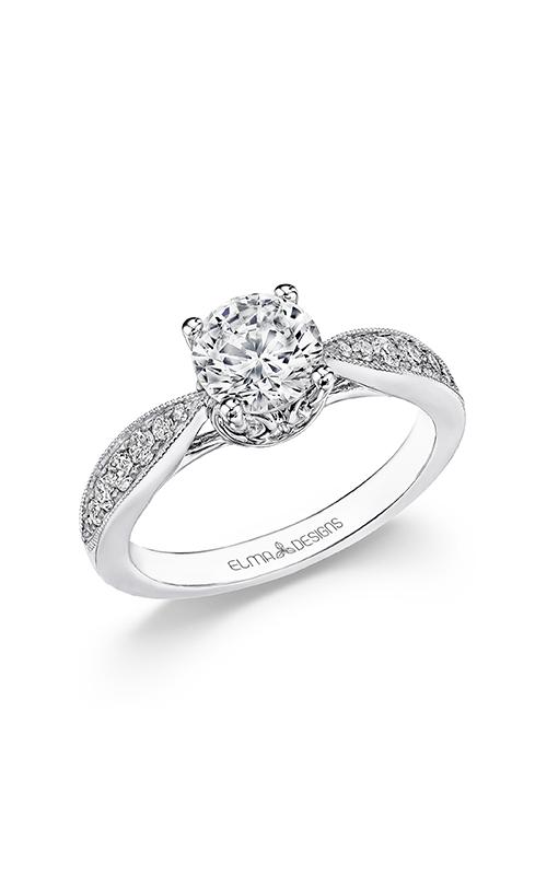 Elma Designs Bridal Collection engagement ring EDDR-725 product image