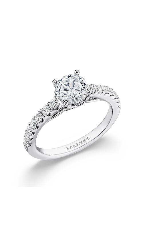 Elma Designs Bridal Collection engagement ring EDDR-727 product image