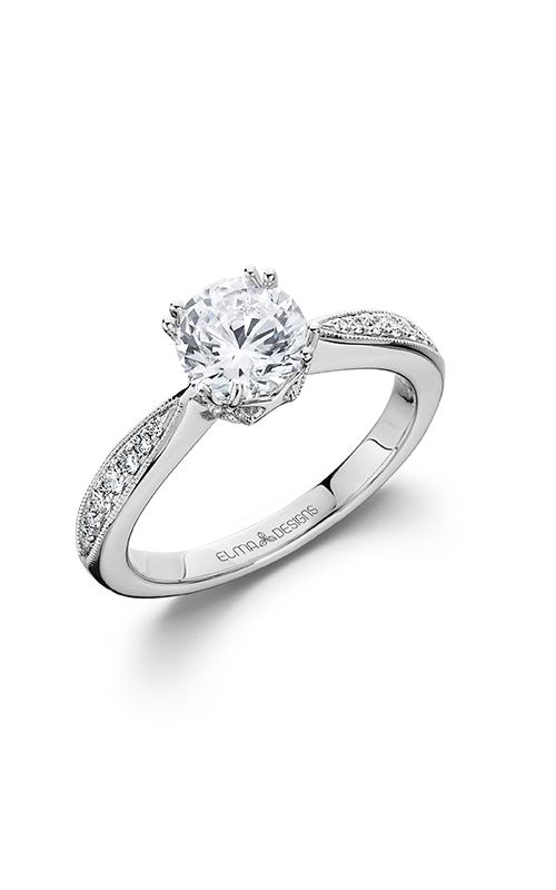 Elma Designs Bridal Collection engagement ring EDDR-800 product image