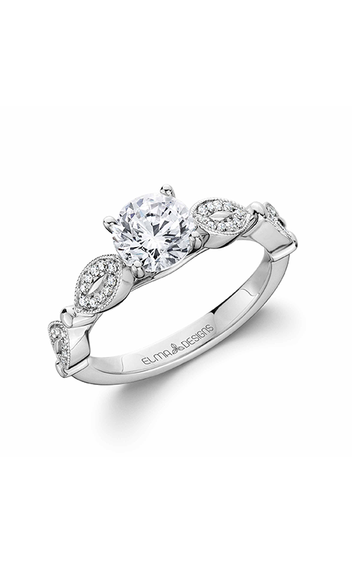Elma Designs Bridal Collection engagement ring EDDR-802 product image